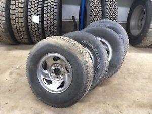 4 pneus BFGoodrich + roues