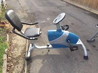 Carl Lewis Recumbent Magnetic Fitness Bike