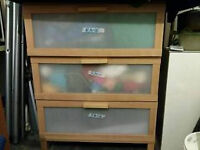 IKEA 3 Chest drawer