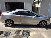 2007 Honda Civic LX Coupe (2 door) - LOW KM and MINT CONDITION