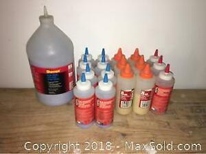 Coloured Powdered Chalk New Old Stock