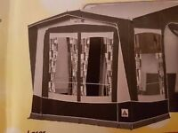 Caravan awning, nearly new (large porch style) - REAL BARGAIN for immediate purchase.