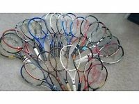 Tennis rackets,shoes,balls,equipment etc....