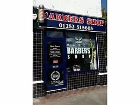 Barber Required for up to 2 people,in Farnborough must speak fluent in English