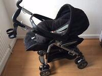 Mamas & Papas Primo Viaggio Rear Facing Car Seat and Pliko P3 Pushchair System