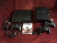 Sony PS3 Slim + 1 game and FREE PS2