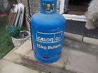 EMPTY CALOR GAS BOTTLE ** 15KG - CLACTON ON SEA - CO15 6AJ