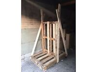 Double sided wooden pallet for FREE, H175 x 120 x 85