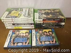 Xbox And Nintendo DS Games