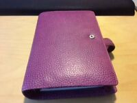 Lovely Leather Finsbury File O Fax Personal Organiser