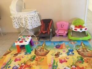 New Baby Bassinet, Fisher Price Laugh&Learn, baby walker, bouncer Wattle Grove Kalamunda Area Preview