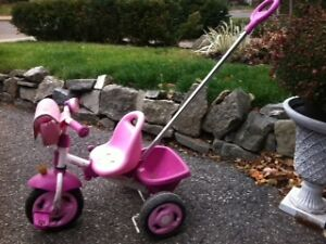 Kettler Princess Tricycle with Navigation Bar