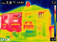 I find Leaks, Damp, Heat Loss - Thermal House Inspection