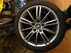BMW WINTER RIM AND TIRES-FOR 328 SPORT-225/45R/17