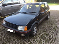 Peugeot 205 Gti 1.9, 1990, black, 131k miles - Lovely to drive