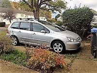 PEUGEOT 307 sw hdi, MOT'd till May, good condition