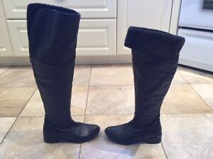 Marco Ferretti Knee High Leather Winter Boots size 6.5 West Island Greater Montréal image 5