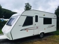 5 Berth Cristall Sprint 500TK Caravan (2007) ideal for families in excellent condition