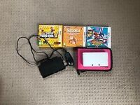 Nintendo 3DS - Very good condition. Comes with 3 games and charger.