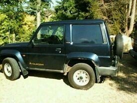 Daihatsu fourtrak van 1997 4wd