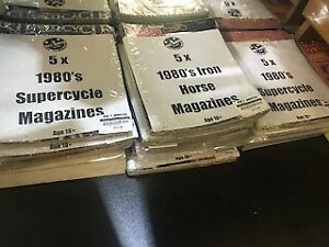 Iron horse and Motor Cycle Magazines - 5 x for $9.99!