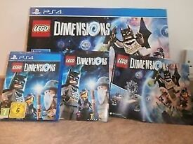 PS4 Lego Dimensions starter pack and software