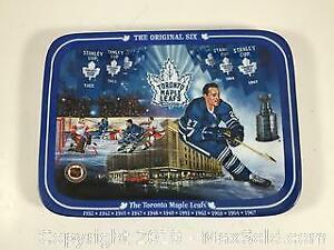 Toronto Maple Leafs Numbered Plate
