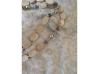 PIA pearl and stones necklace. New never worn. Will have a pouch. Last Chance!