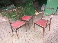 1950's collect-able solid wooden chair