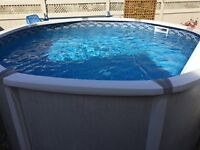 SALT WATER 12ft POOL for sale