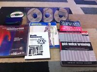 Medical Transcription Practice CD's and Books