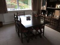Youngers Toledo Range Dining Table & 5 Chairs