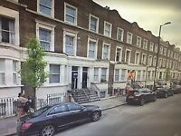 Lovely 2 bedroom lower ground floor with private garden in NW6