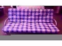 EXCELLENT CONDITION NEW! futon sofa bed, metal frame
