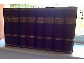 BLACKIE'S MODERN CYCLOPEDIA 1896 COMPLETE SET OF EIGHT