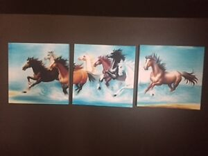 Horse lover toys, lamps, pictures and decor