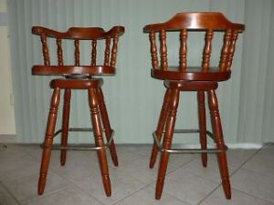 Two Captain Bar Stools