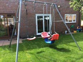 TP Toys Swing & Swingboat Set - Used