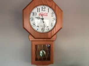 Coca Cola clocks and watches