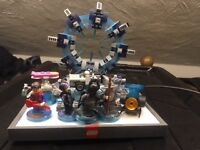 PS3 Lego infinity with Lego movie & Back to Future Characters. Rarely used