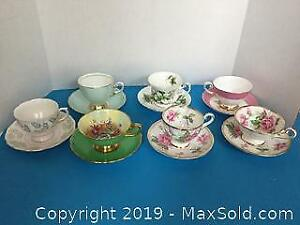 Tea Cups and Saucers