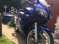 suzuki sv650 good condition low mileage runs well