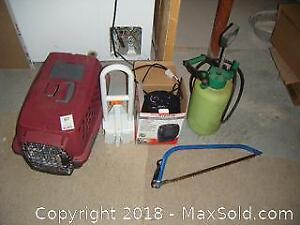 Cat Carrier And Sprayer A