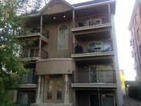 Mission One Bedroom with Hardwood Floors and Balcony