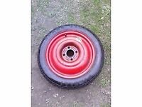 ford focus space saver / spare wheel 98-05