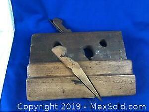 2 Antique Wood Planes Booth Brothers Dublin