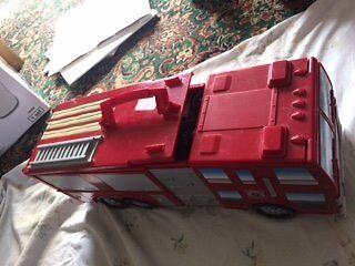 Micro Machine Fire Engine with 50+ Micro Machines