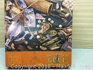 Good Old Days Golf Puzzle A