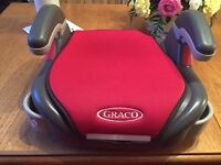 Graco car booster seat- excellent condition