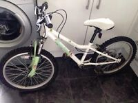 Girls Halford Mountain Bike age 7-11 years